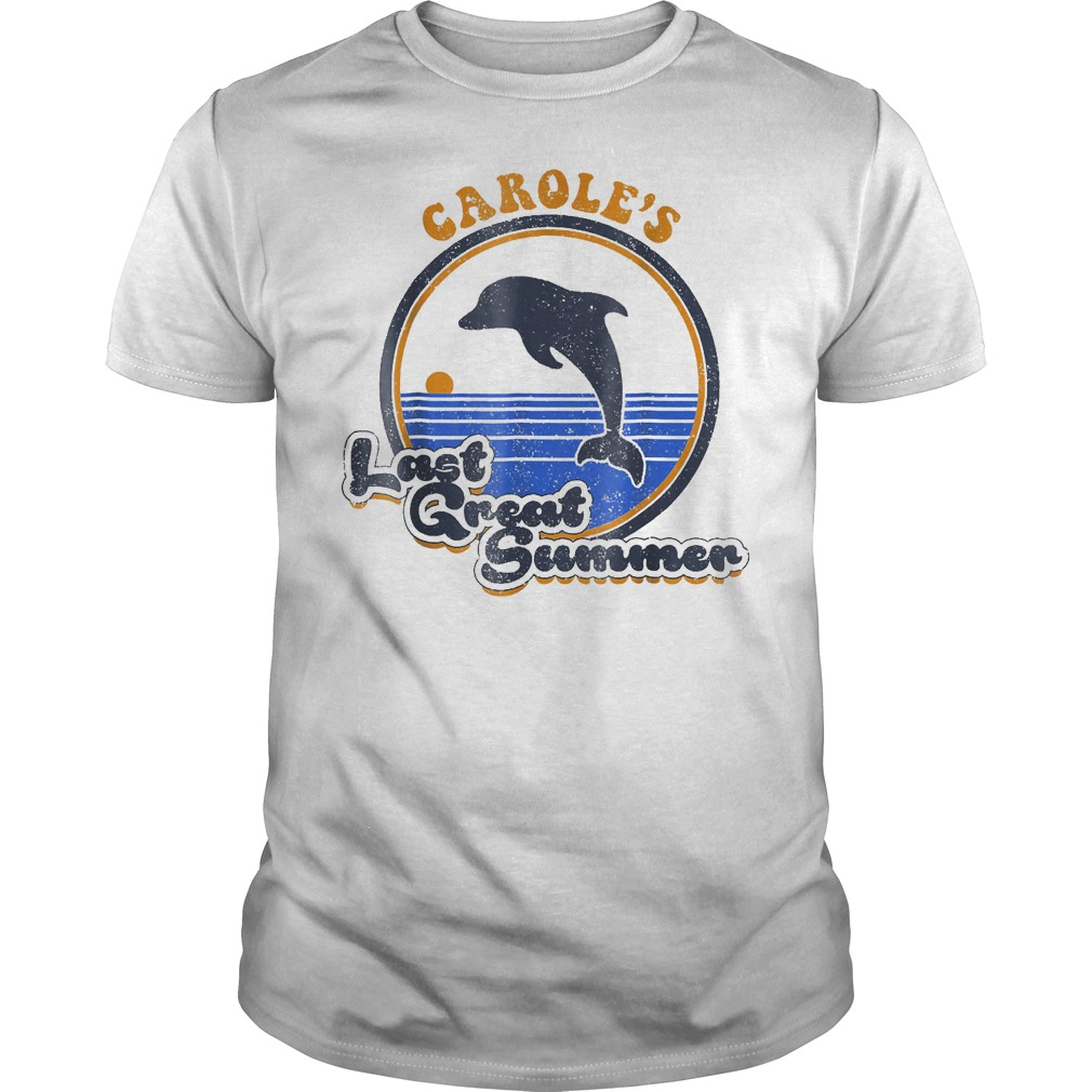 Carole's Last Great Summer T-Shirt Classic Guys / Unisex Tee
