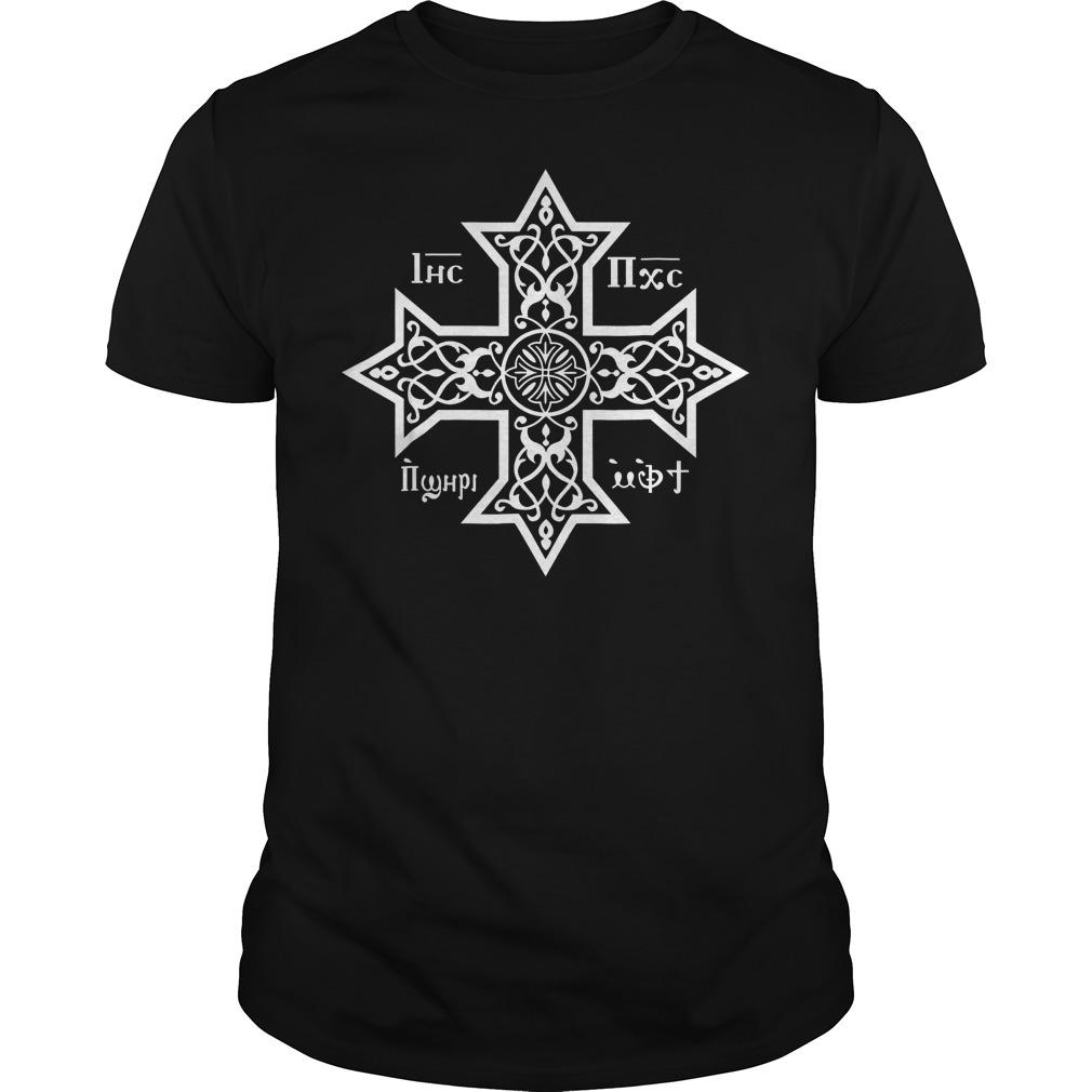 Copts Coptic Orthodox Church T-Shirt Guys Tee