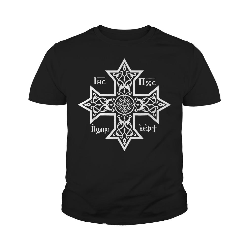 Copts Coptic Orthodox Church T-Shirt Youth Tee