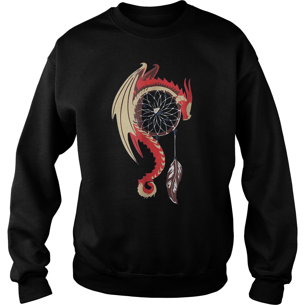Dream Catcher Dragon T-Shirt Sweat Shirt