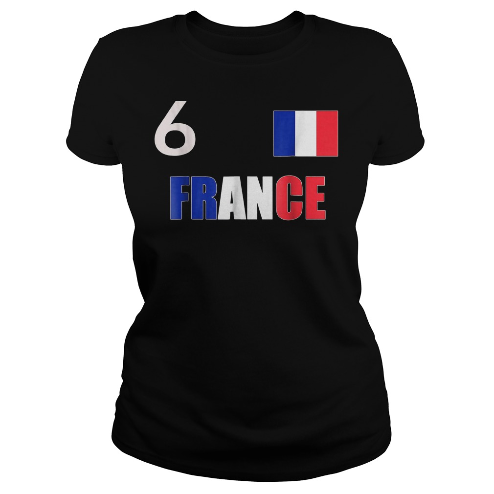 France World Final Soccer World Cup 2018 T-Shirt Classic Ladies Tee
