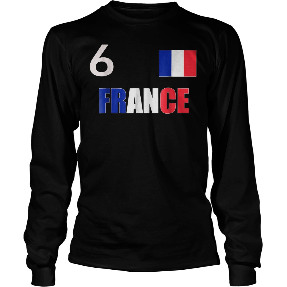 France World Final Soccer World Cup 2018 T-Shirt Longsleeve Tee Unisex