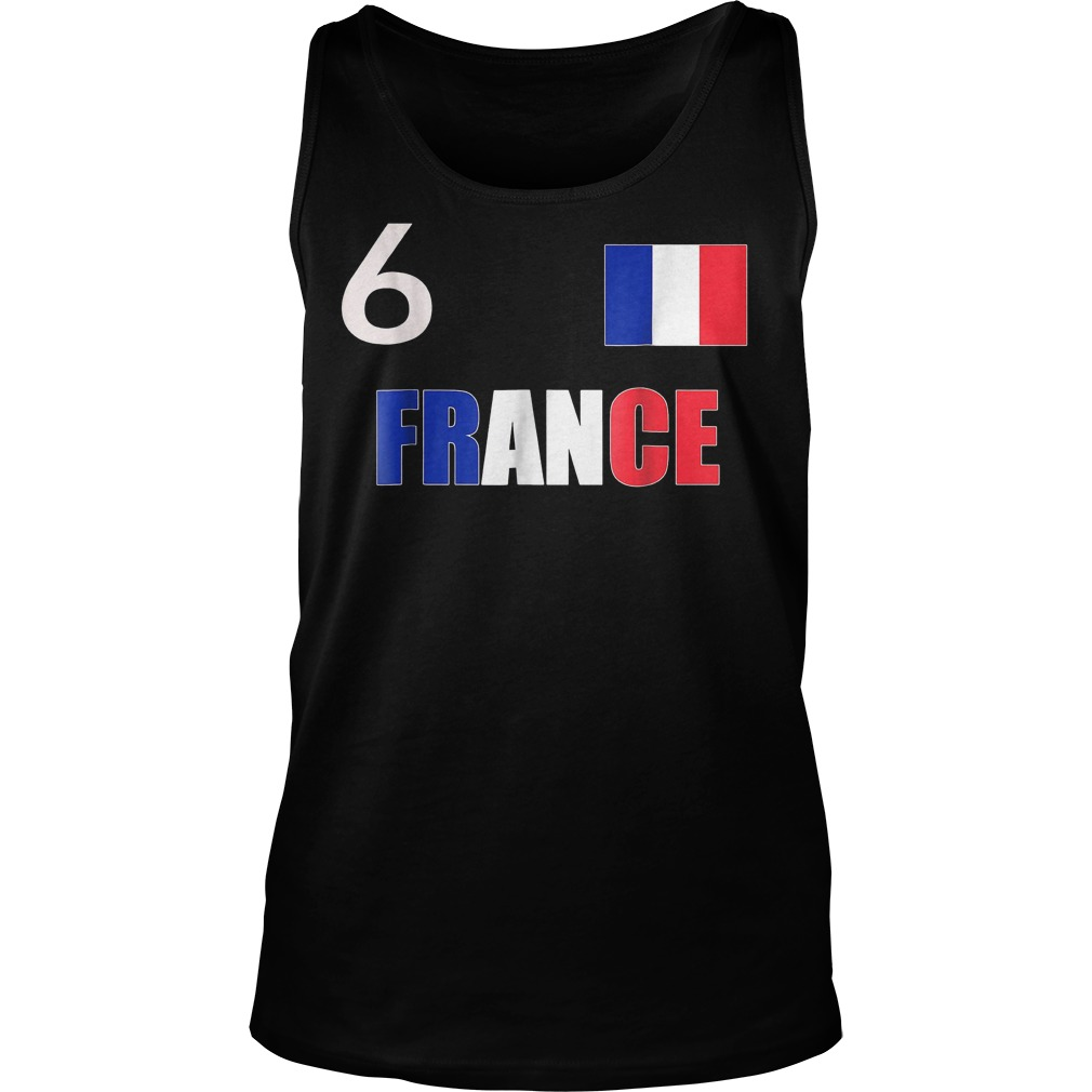 France World Final Soccer World Cup 2018 T-Shirt Tank Top Unisex