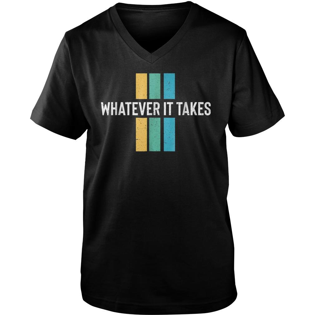 Imagine The Dragon Whatever It Takes T-Shirt Guys V-Neck