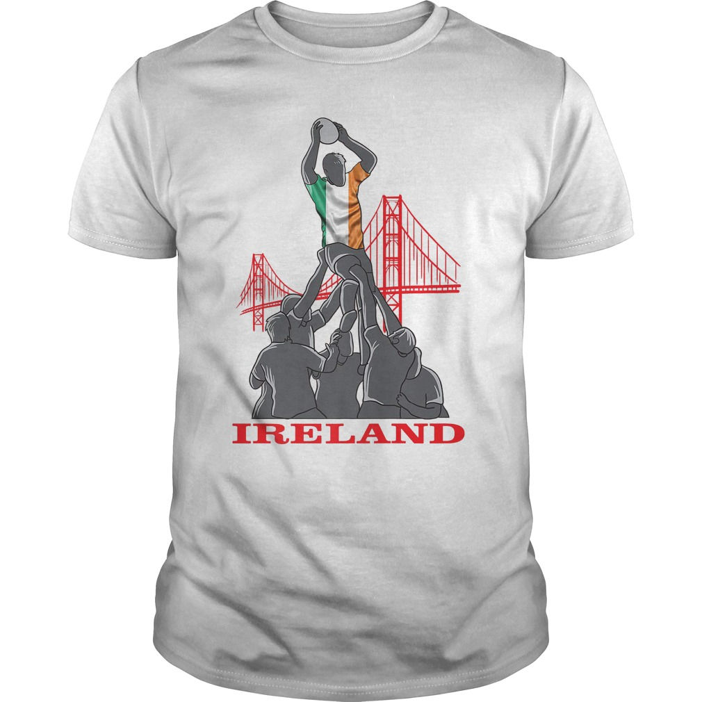 Ireland Rugby Sevens 2018 Champions Rugby World T-Shirt Classic Guys / Unisex Tee
