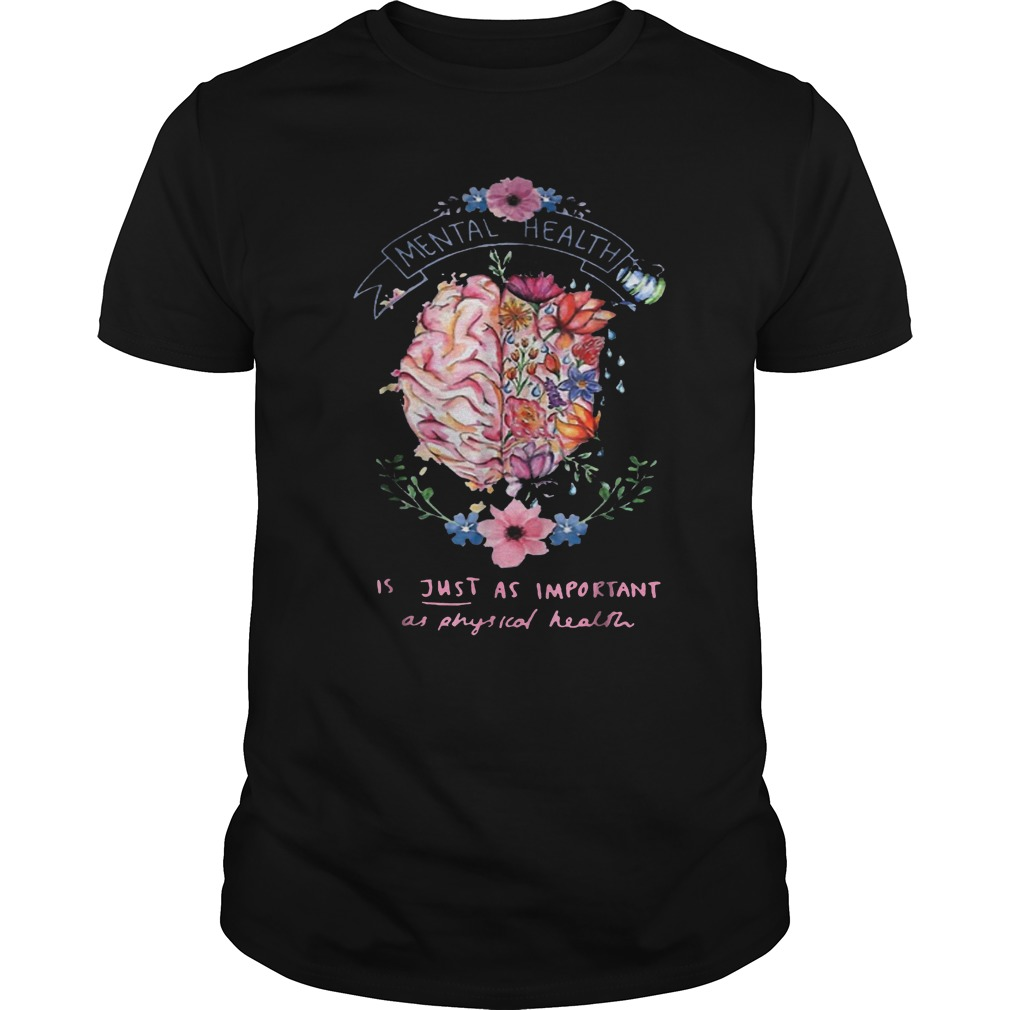 Just Physical Health Floral T-Shirt Classic Guys / Unisex Tee