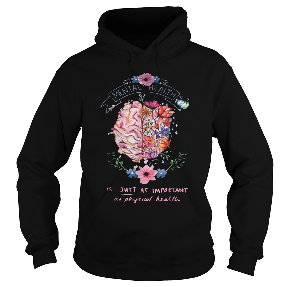 Just Physical Health Floral T-Shirt Hoodie
