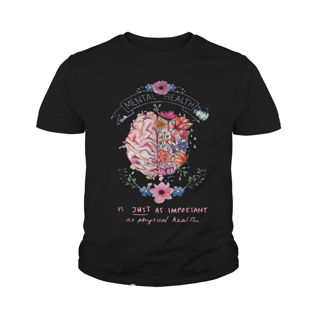 Just Physical Health Floral T-Shirt Youth Tee