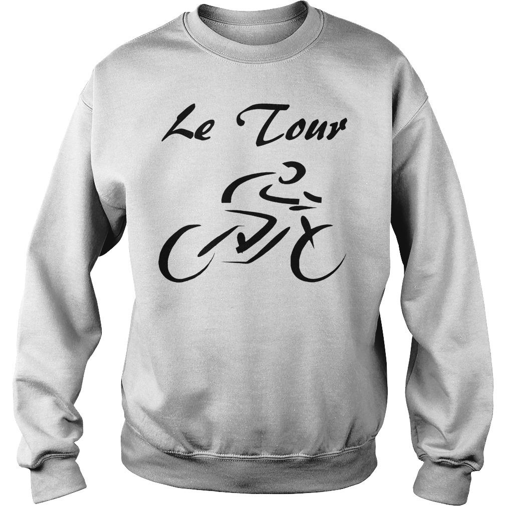 Le Tour De France Bicycle Racing 2018 T-Shirt Sweatshirt Unisex