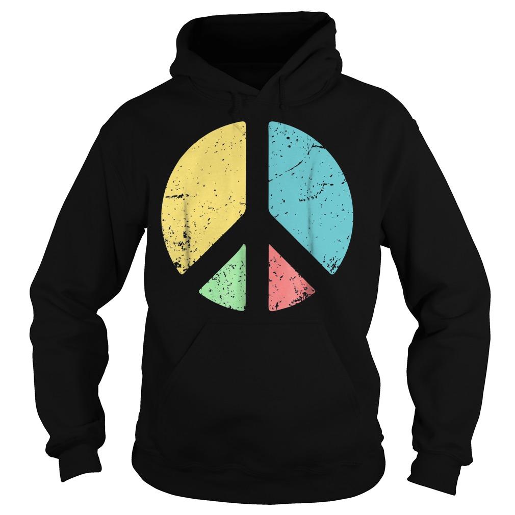 Peace Sign Love T-Shirt Hoodie