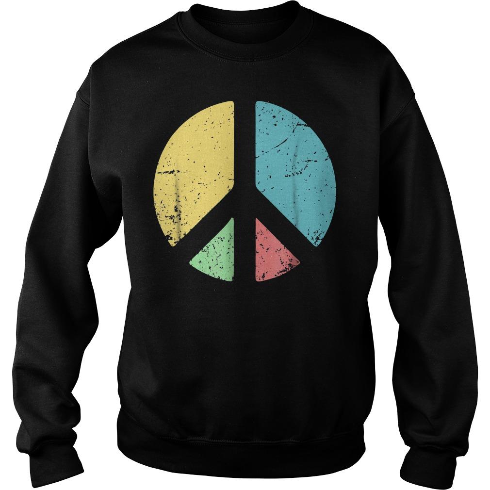 Peace Sign Love T-Shirt Sweatshirt Unisex
