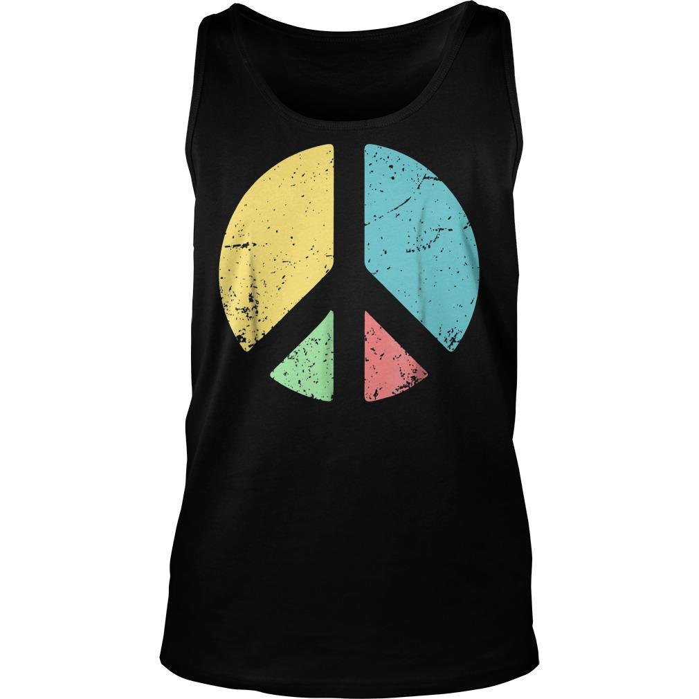 Peace Sign Love T-Shirt Tank Top Unisex