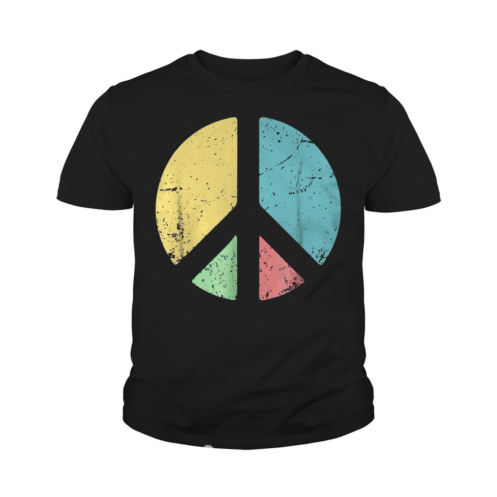 Peace Sign Love T-Shirt Youth Tee