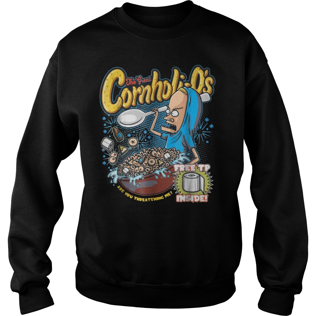 Premium Cornholi-O's T-Shirt Sweatshirt Unisex