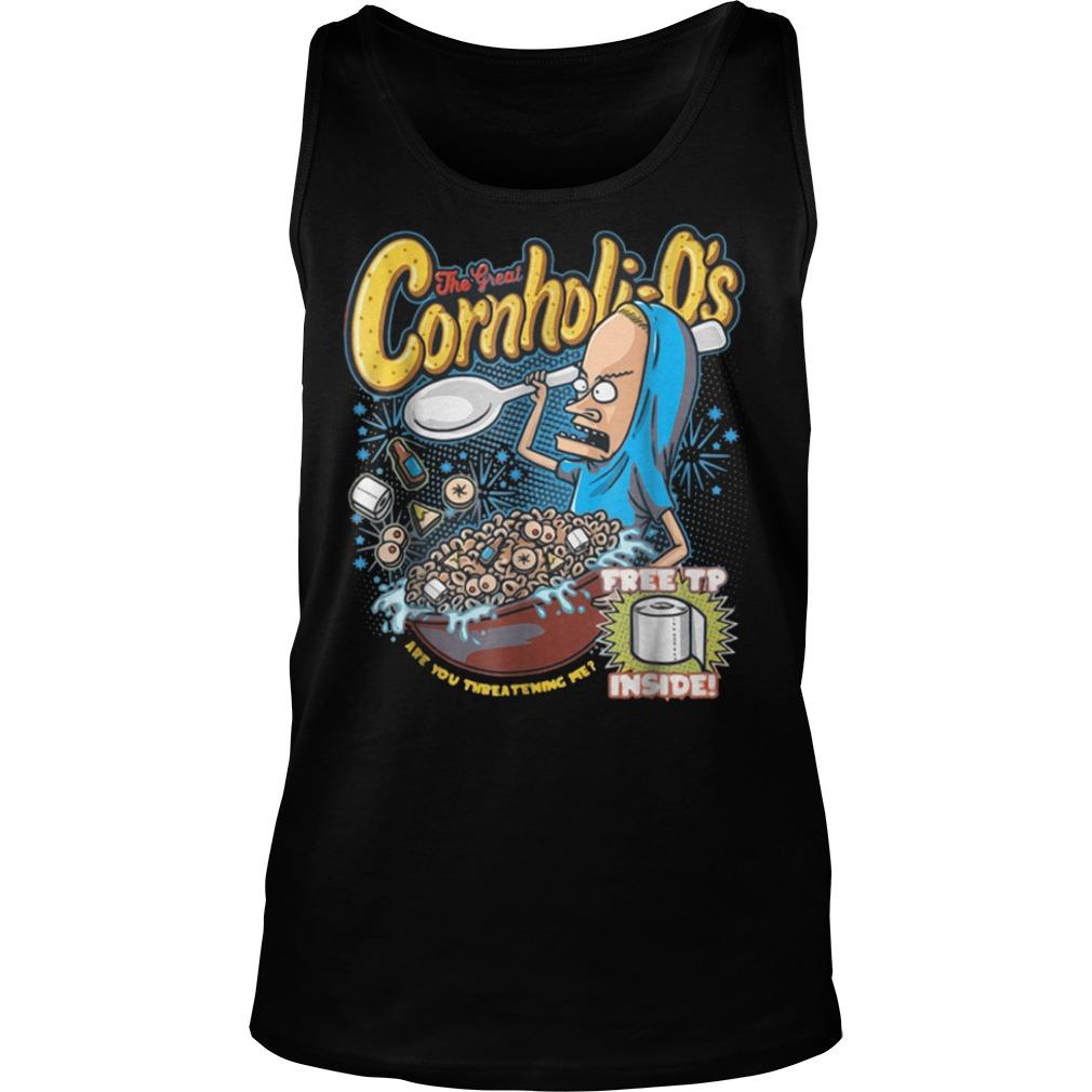 Premium Cornholi-O's T-Shirt Tank Top Unisex
