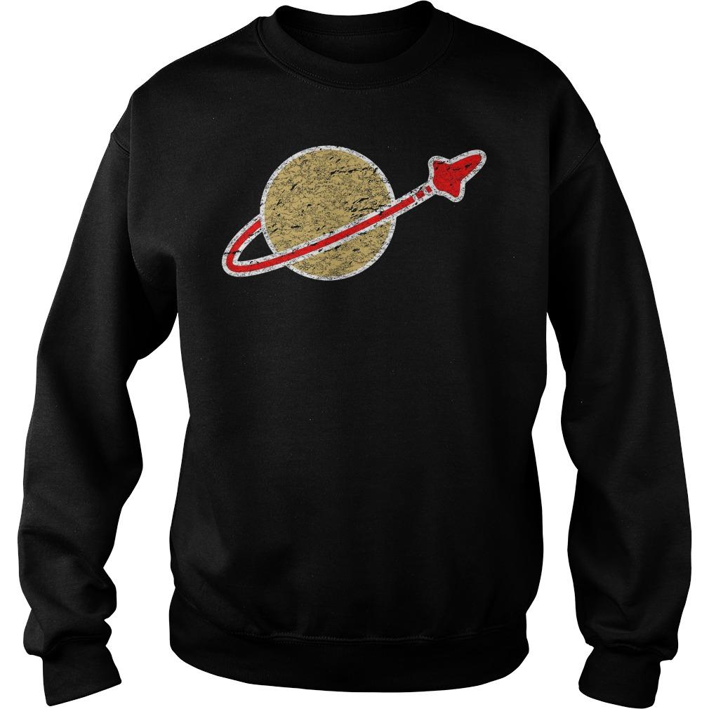 Retro Lego Space Logo T-Shirt Sweat Shirt