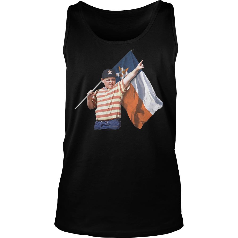 The Sandlot Hold Houston Astros Flag T-Shirt Tank Top Unisex