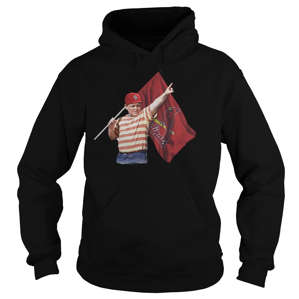 The Sandlot Hold St Louis Cardinals Flag T-Shirt Hoodie