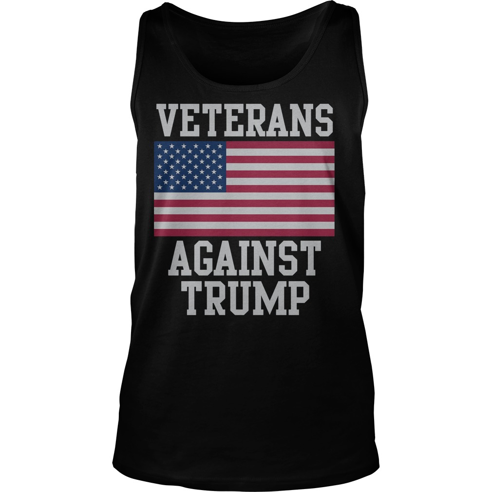 Veterans Against Trump T-Shirt Tank Top Unisex
