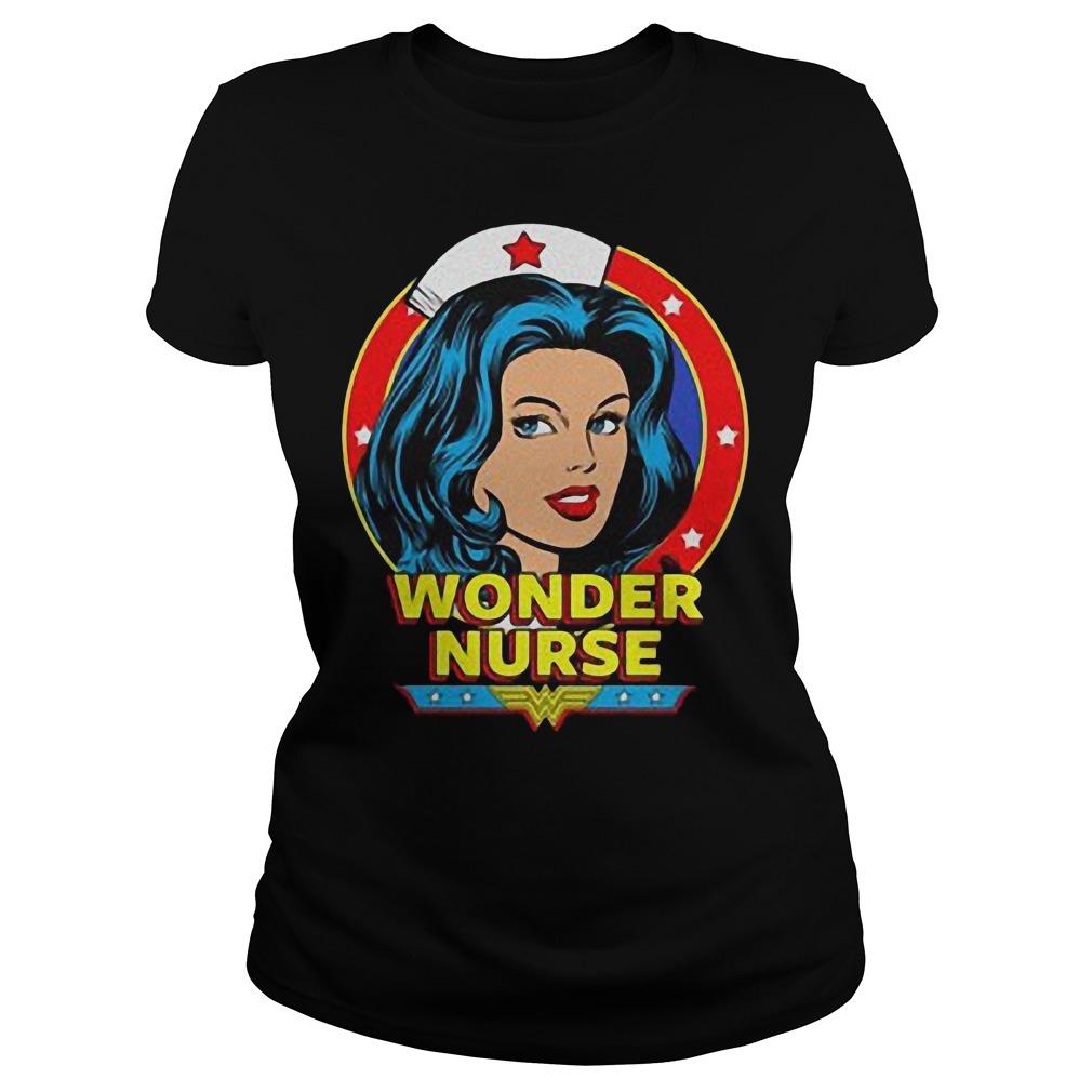 Wonder Nurse T-Shirt Classic Ladies Tee