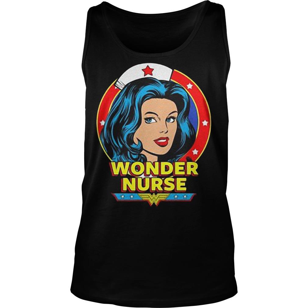 Wonder Nurse T-Shirt Tank Top Unisex