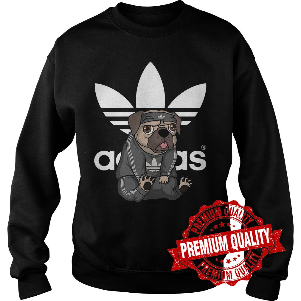 Best Price Adidas Pug shirt Sweatshirt Unisex