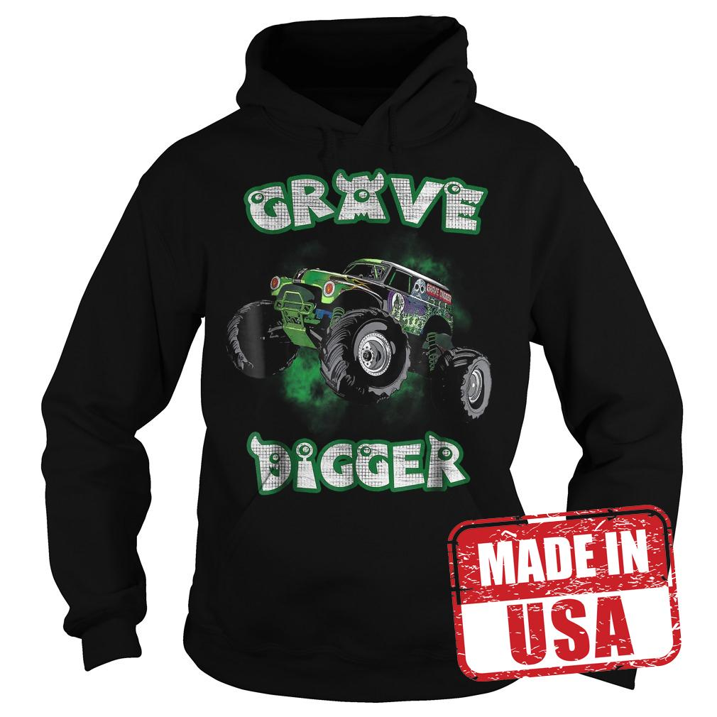 Best Price Grave Monster Truck Digger shirt Hoodie