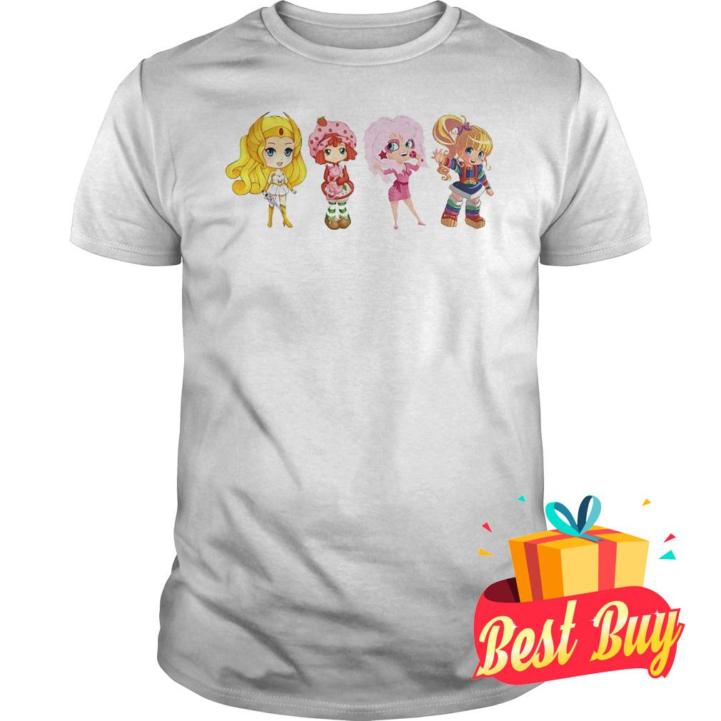 Best Price Shira Strabery Shortcake Jem Rainbow Brigh Best Friends Ever shirt