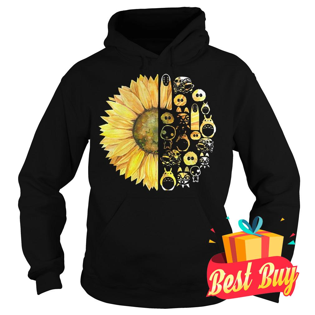 Best Price Sunflowers and studio ghibli shirt Hoodie