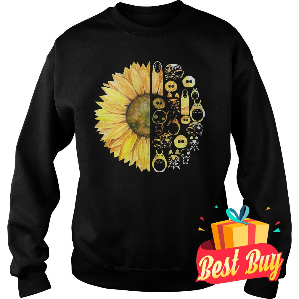 Best Price Sunflowers and studio ghibli shirt Sweatshirt Unisex