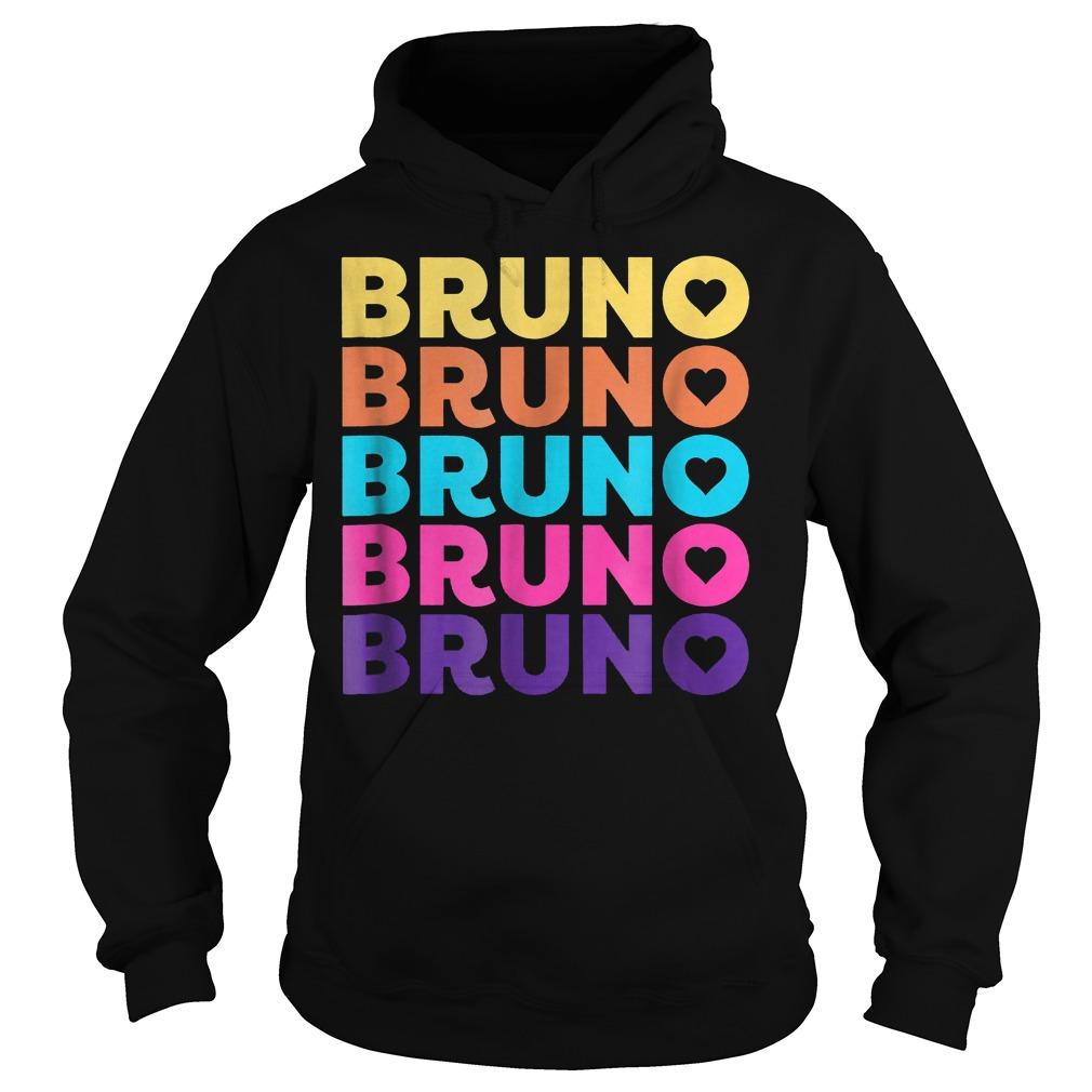 Love Heart Bruno 70ies Style Shirt Hoodie