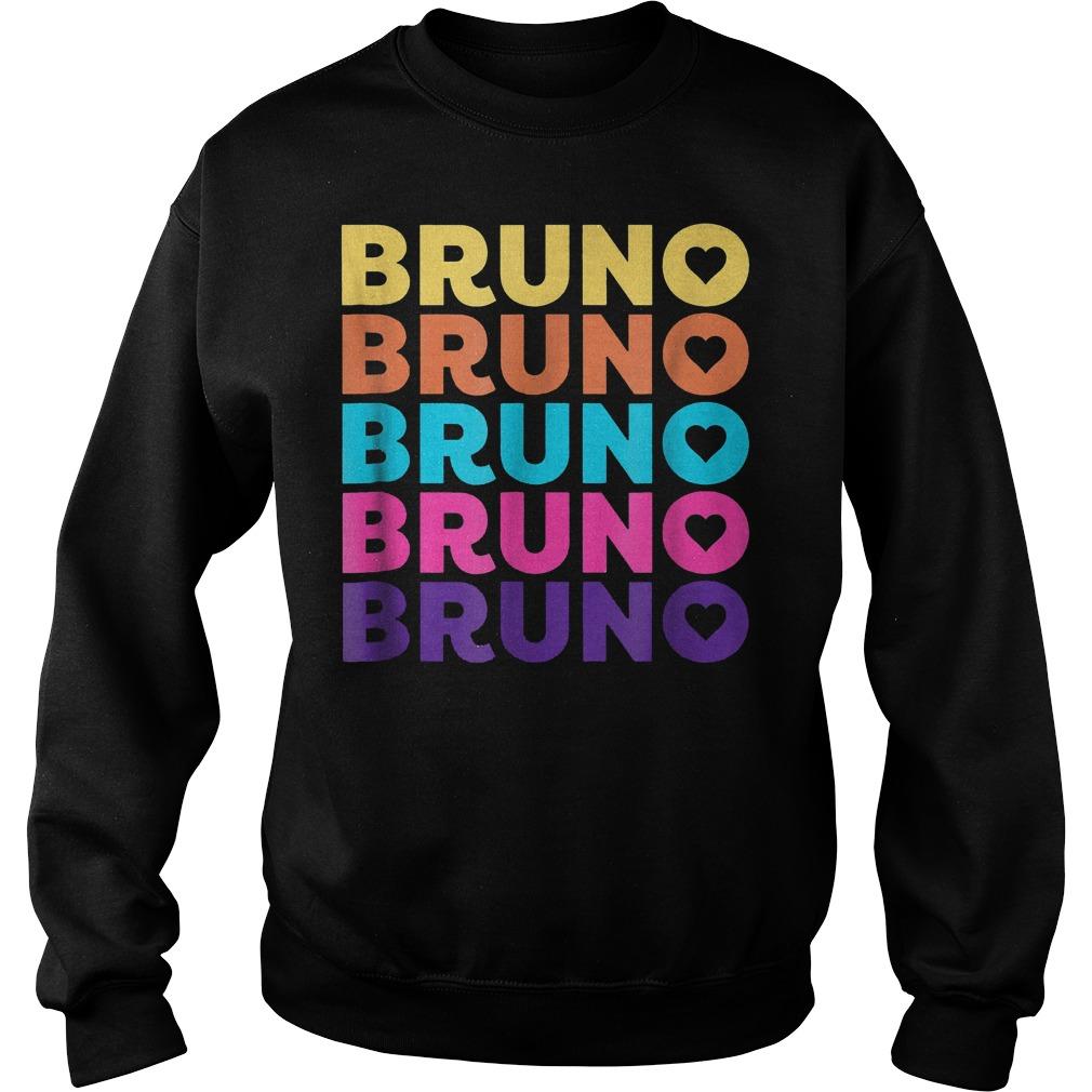 Love Heart Bruno 70ies Style Shirt Sweatshirt Unisex
