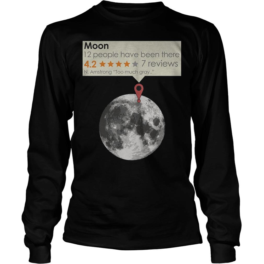 Moon – N.Armstrong – Too Much Gray T-Shirt Longsleeve Tee Unisex