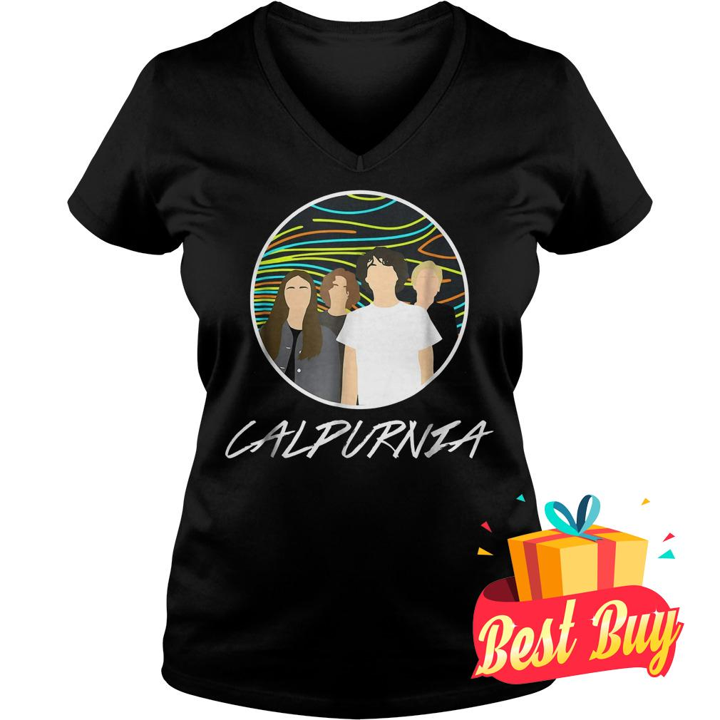 Official Calpurnia shirt Ladies V-Neck