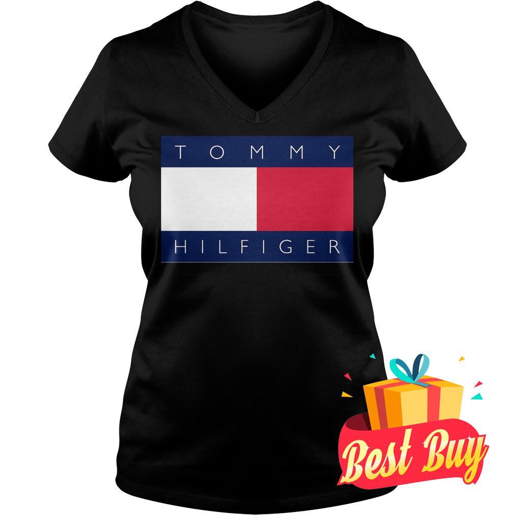 Official Tommy Hilfiger Shirt Ladies V-Neck