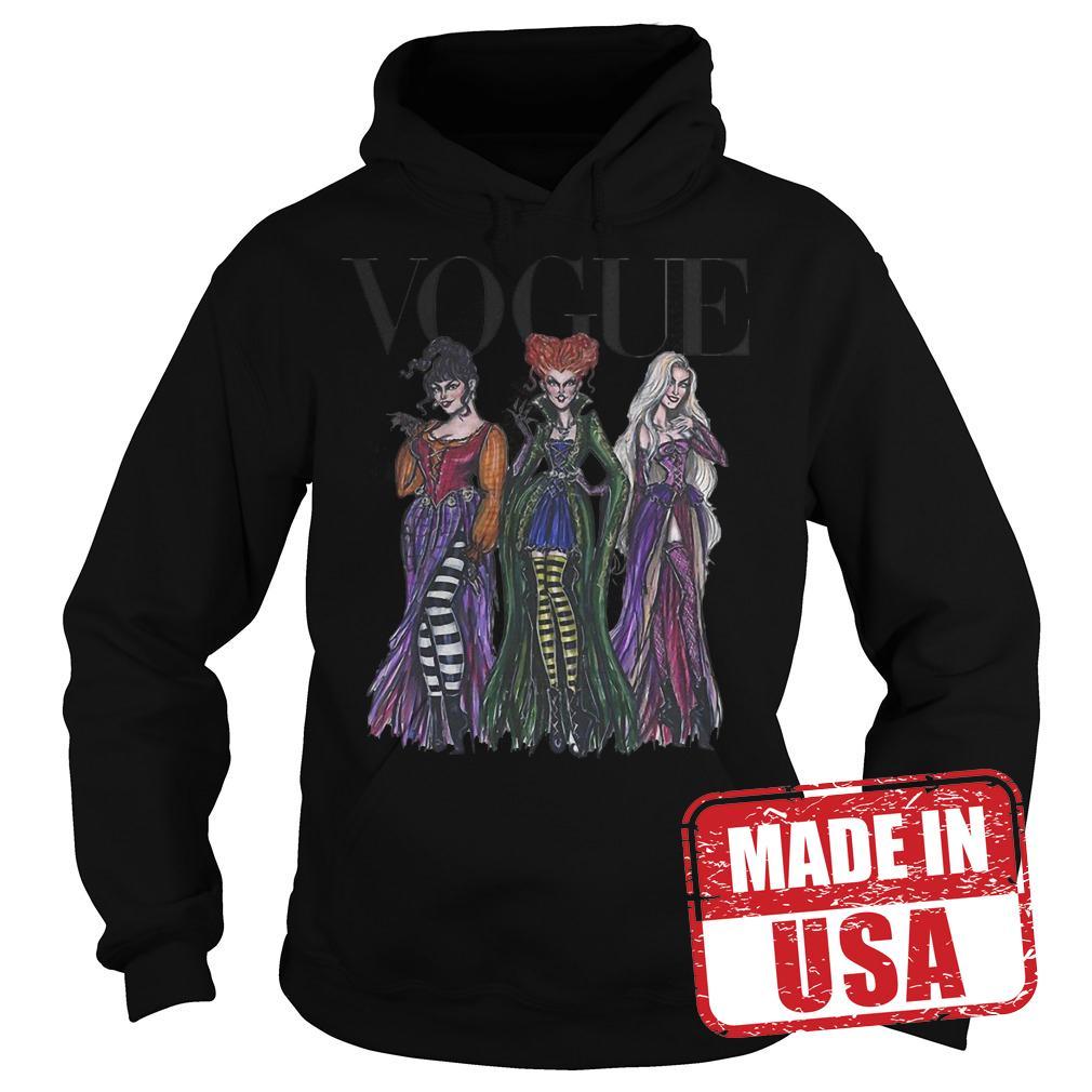 Official Vogue Hocus Pocus shirt Hoodie