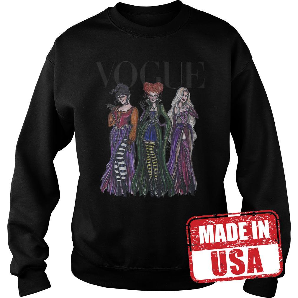 Official Vogue Hocus Pocus shirt Sweatshirt Unisex