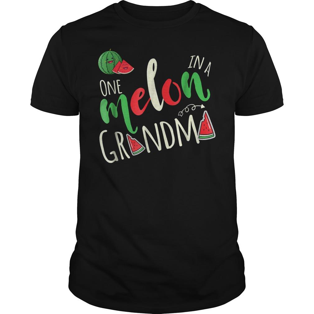 One Melon In A Grandma T-Shirt Classic Guys / Unisex Tee