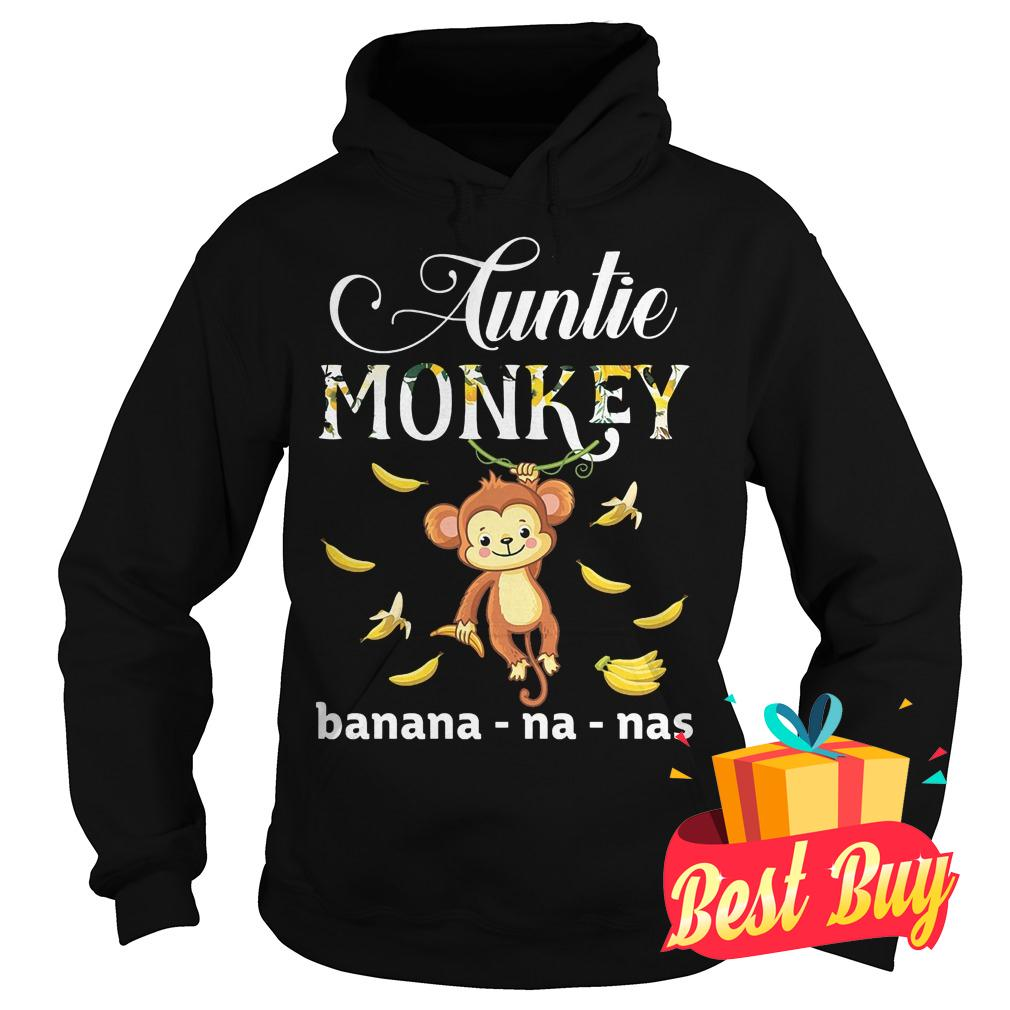 Original Auntie Monkey banana Shirt Hoodie
