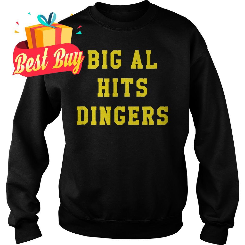Original Big Al Hits Dingers shirt Sweatshirt Unisex