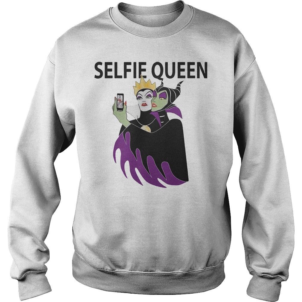 Original Grimhilde and Maleficent selfie queen Shirt Sweatshirt Unisex