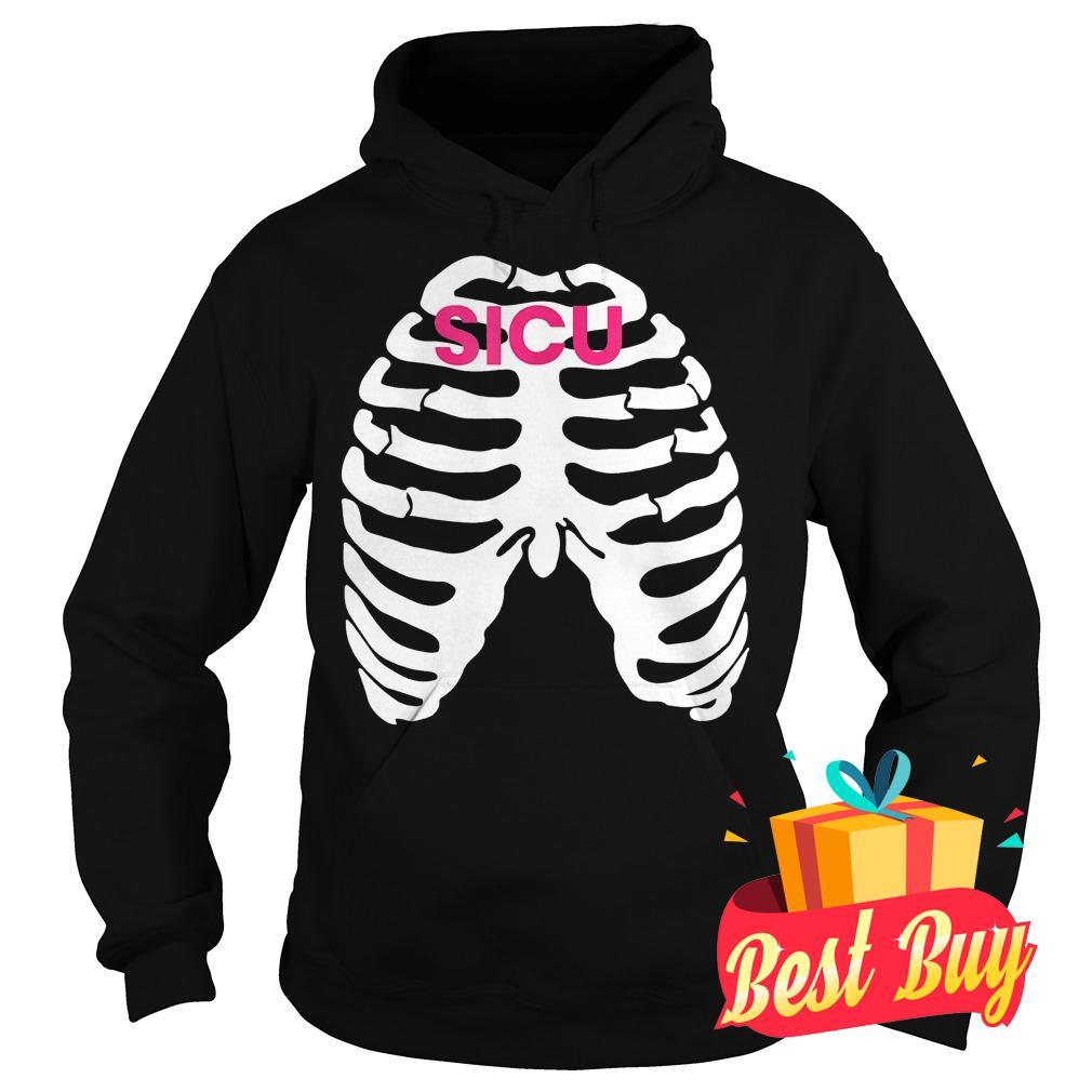 Original Nursing Rib Watch 2018 SICU shirt Hoodie
