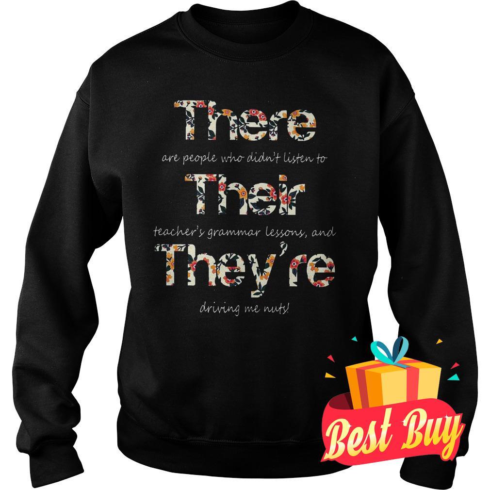 Original Teacher Hippie They Are Driving Me Nuts Shirt Sweatshirt Unisex