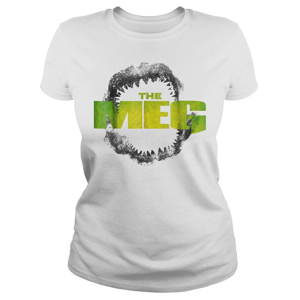 Original The Meg-Movie Shirt Classic Ladies Tee