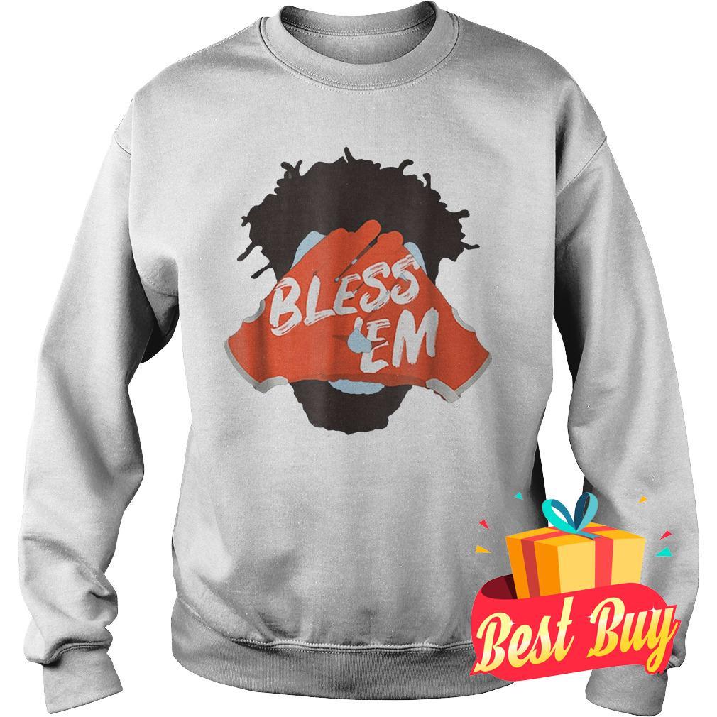 Premium Browns Football Bless Em Shirt Sweatshirt Unisex