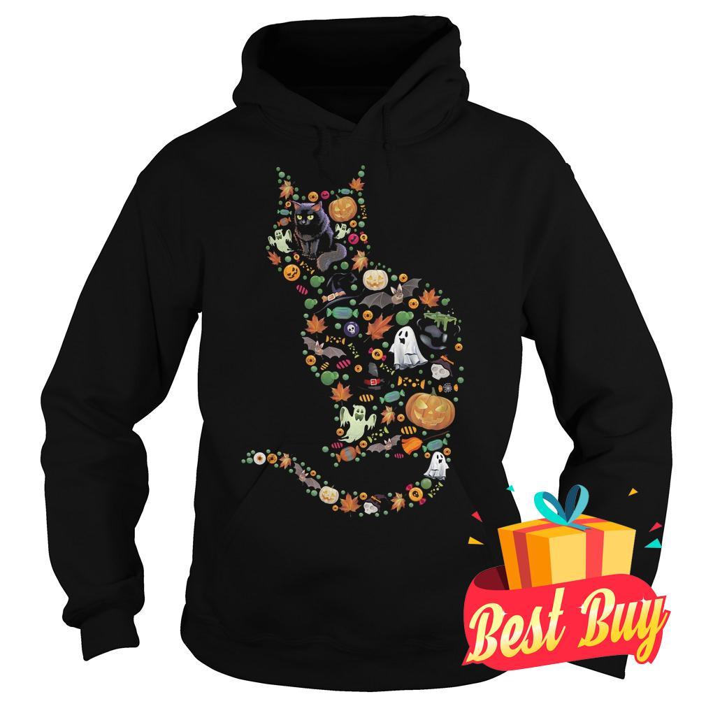 Premium Halloween Cat shirt Hoodie