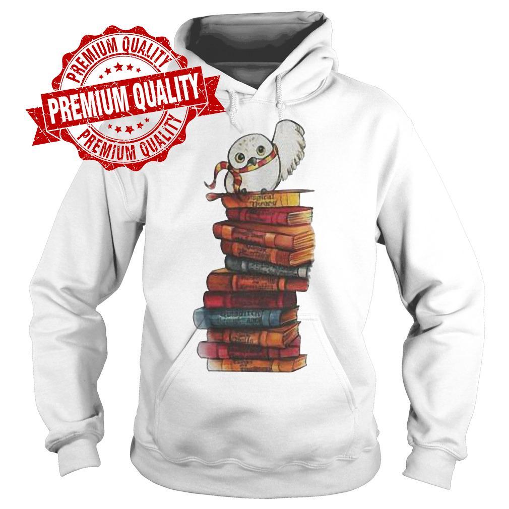 Premium Harry Potter - Owl And Books Shirt Hoodie