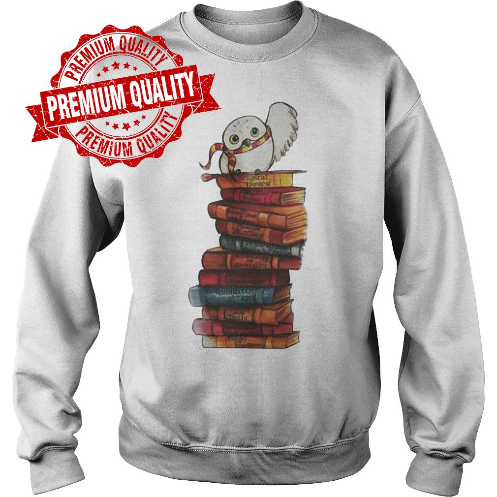 Premium Harry Potter - Owl And Books Shirt Sweatshirt Unisex