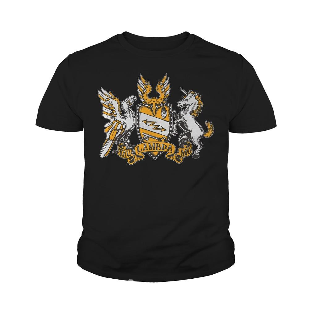 Tau Lambda Mu - TAM Crest T-Shirt Youth Tee