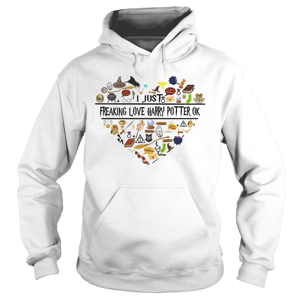 Harry Potter items I just freaking love harry potter ok Shirt Hoodie